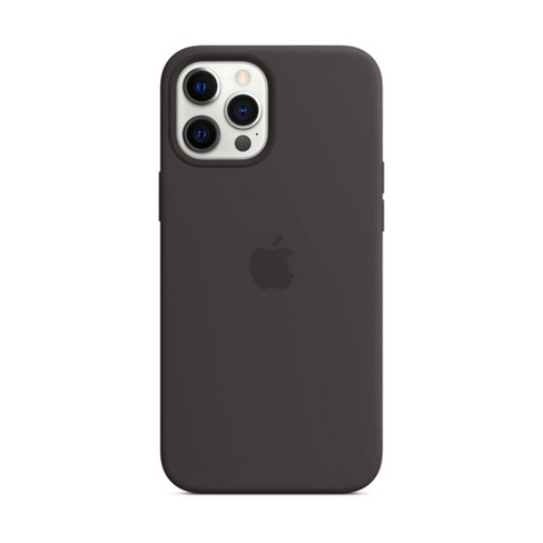Apple iPhone 12 Pro Max Silicone Case with MagSafe - Black - image 1 of 1