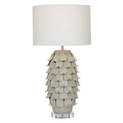 "28"" x 15"" Modern Ceramic Pineapple Table Lamp - Olivia & May"