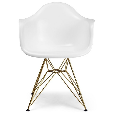 Dining Chairs Aeon White Champagne - image 1 of 3