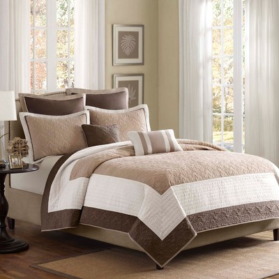 7pc Longmont Quilted Coverlet Set