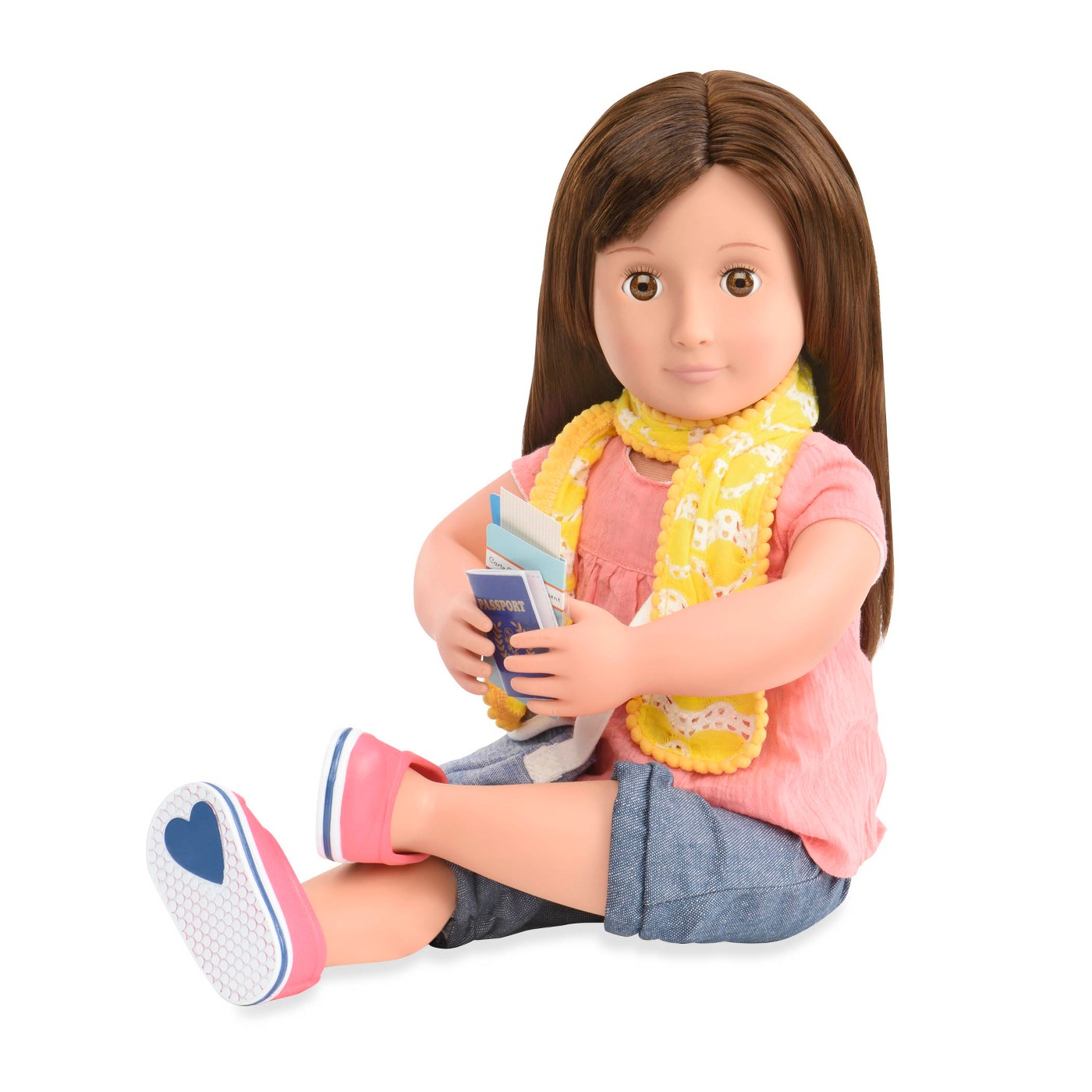 Our Generation Deluxe Travel Doll with Book - Reese - image 2 of 7
