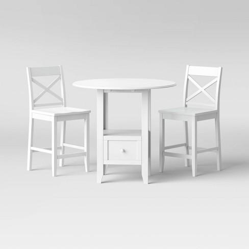 3pc Storage Dining Table Set - Threshold™ - image 1 of 4
