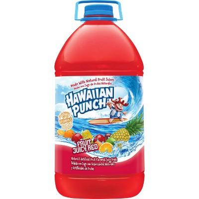 Hawaiian Punch Fruit Juicy Red Drink - 1 gal Bottle