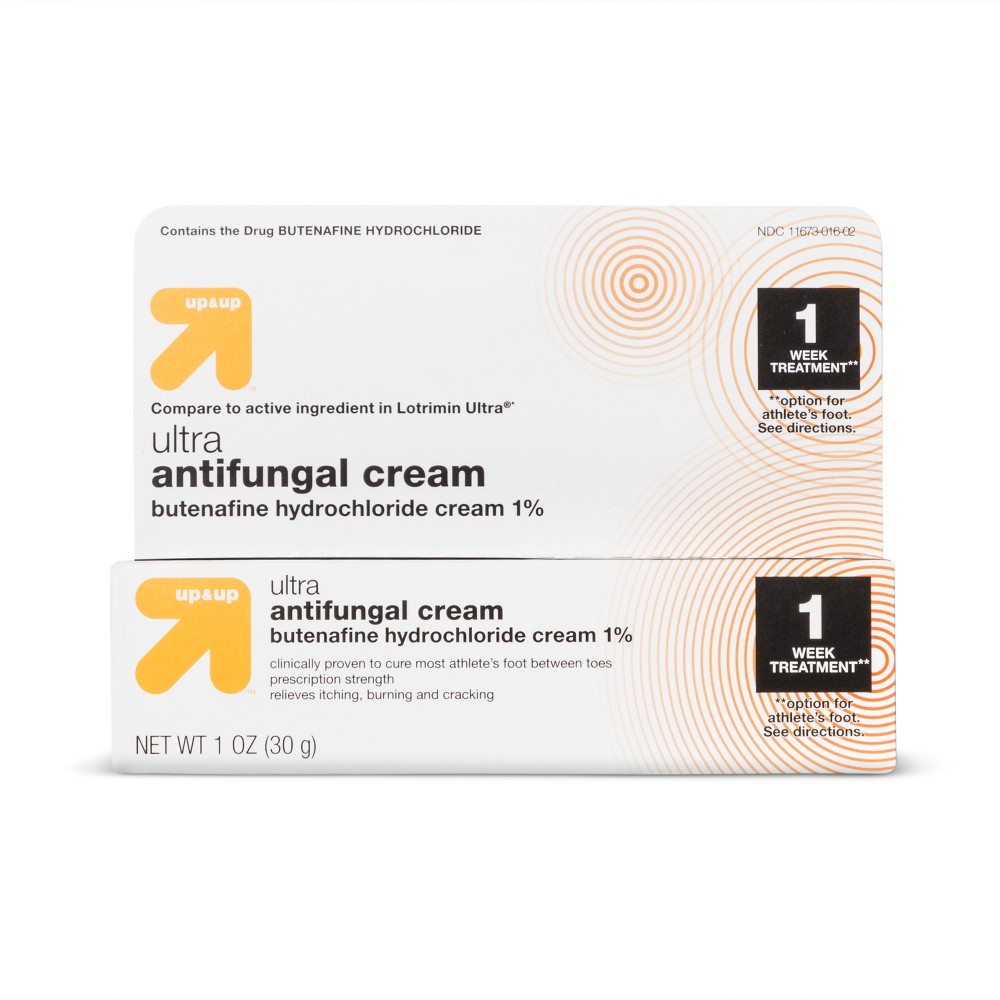 Ultra Athlete's Foot Antifungal Treatment - 1.1oz - Up&Up (Compare to active ingredient in Lotrimin Ultra)