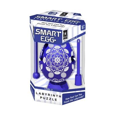Smart Egg Labyrinth Puzzle - Color Collection: Blue Brainteaser 2pc