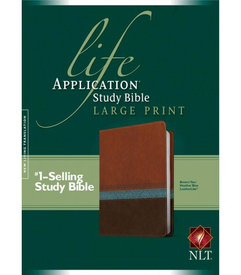 Life Application Study Bible : New Living Translation Life Application Study Bible, Brown/Tan/Heather - image 1 of 1