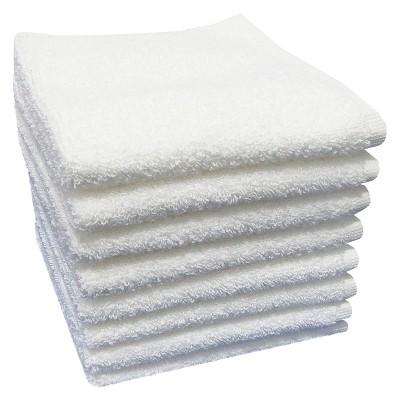 Washcloth White 8pk - Room Essentials™