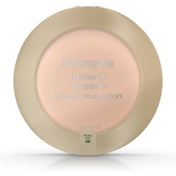 Neutrogena Mineral Sheers Compact Powder - 20 Natural Ivory