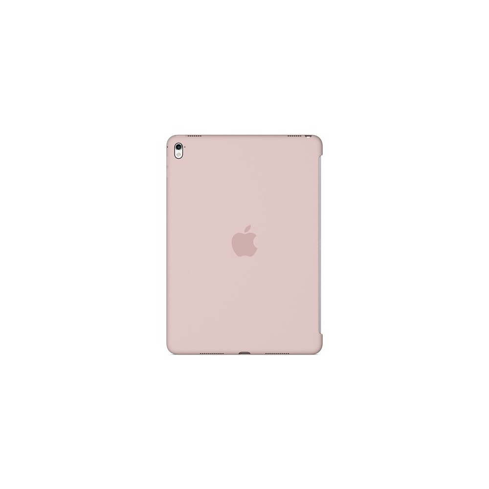 Apple iPad Pro 9.7-inch Silicone Case - Pink Sand The Silicone Case for the 9.7-inch iPad Pro protects the back of your device and is designed to pair seamlessly with the Smart Cover for full front-and-back coverage. The smooth silicone material feels great in your hand and protects your iPad Pro while maintaining its sleek, beautiful design. Color: Pink Sand. Pattern: Solid.