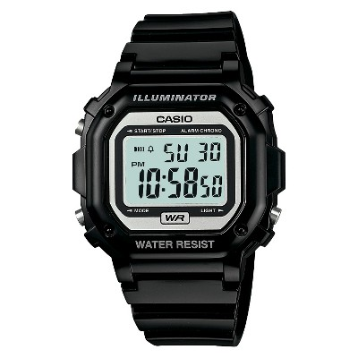 Casio Men's Digital Watch - Glossy Black (F108WHC-1ACF)