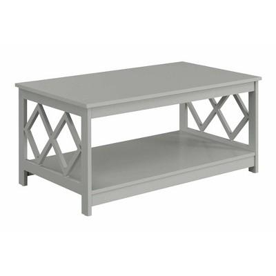 Diamond Coffee Table Gray - Breighton Home