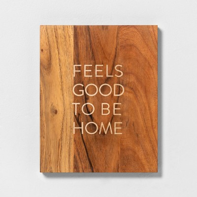 'Feels Good To Be Home' Wood Sign - Hearth & Hand™ with Magnolia