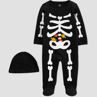 Baby Boys' Skeleton Sleep N' Play - Just One You® made by carter's Black Newborn
