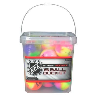 Franklin Sports Street Hockey Balls 15pk