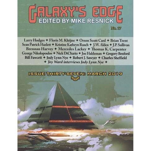 Galaxy's Edge Magazine - by  Orson Scott Card & Joe Haldeman & Mercedes Lackey (Paperback) - image 1 of 1