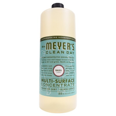 Mrs. Meyer's Basil Scent Multi-Surface Concentrate - 32 fl oz
