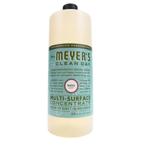 Mrs Meyer S 174 Basil Scent Multi Surface Concentrate 32
