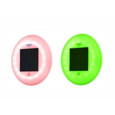 Solar LED Pool Lights Red/Blue/Green - Techko