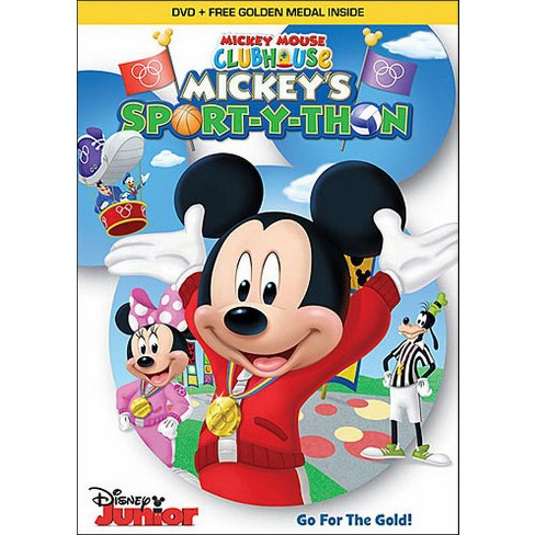 mickey mouse clubhouse mickey s sport y thon dvd target