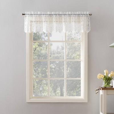 Joy Lace Curtain Tiers Pair No. 918