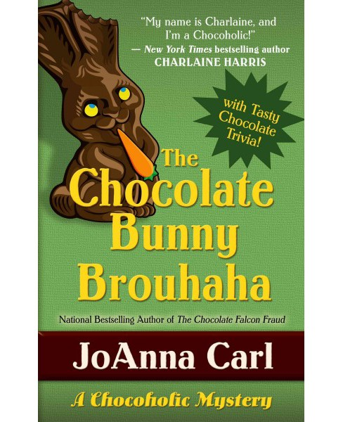 Chocolate Bunny Brouhaha (Large Print) (Hardcover) (Joanna Carl) - image 1 of 1