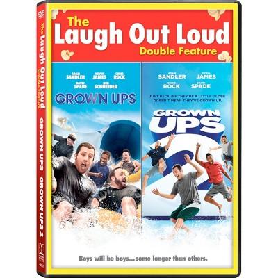 Grown Ups 1 & 2 DF (DVD)
