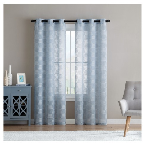Jolie Embroidery Window Sheer - VCNY Home - image 1 of 2