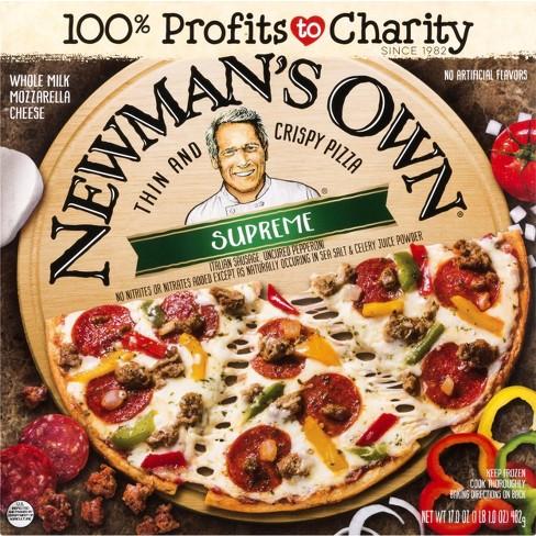Newman's Own Thin & Crispy Supreme Frozen Pizza - 17oz - image 1 of 3