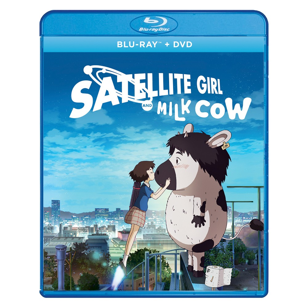 Satellite Girl And Milk Cow (Blu-Ray + Dvd + Digital) An out of commission satellite picks up a lovelorn ballad on her radio antenna and descends to Earth. But on the way she is caught in a raging magical battle and transforms into Satellite Girl, complete with Astro Boy-like rocket shoes and weapon-firing limbs. Meanwhile, the balladeer in question is turned into a farm animal. But love knows no bounds, and our duo must evade nefarious adversaries in an attempt to be together.
