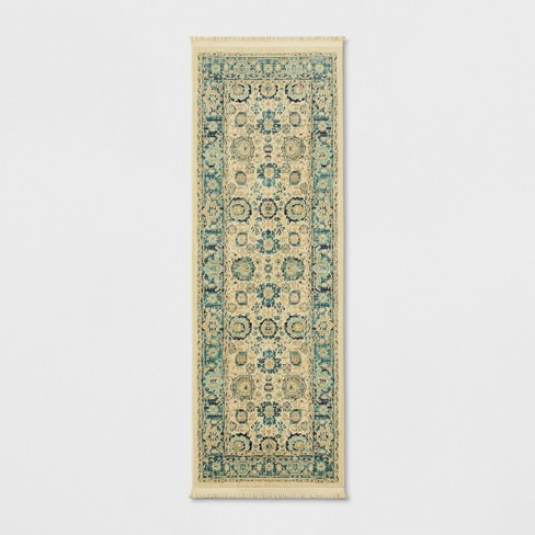 Persian with Fringe Border Woven Rug - Threshold™ - image 1 of 3