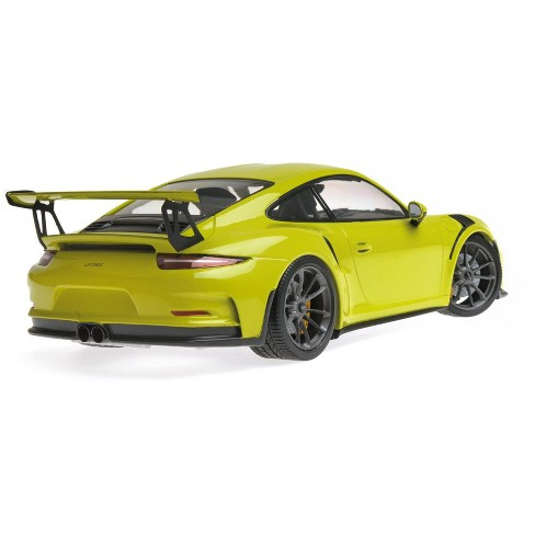 2015 Porsche 911 Gt3 Rs Light Green Limited Edition To 1 002 Pieces