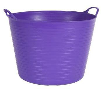 Colorful Tubtrug, 11 Gallon - Purple - Gardener's Supply Company