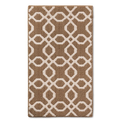 """1'8""""X3' Accent Rug Tan - Threshold™ - image 1 of 4"""