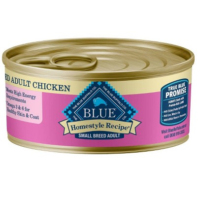 Blue Buffalo Homestyle Recipe Wet Dog Food Chicken Small Breed Adult - 5.5oz