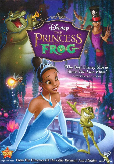 The Princess and the Frog (dvd_video) - image 1 of 1