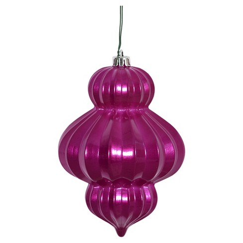3ct Magenta Candy Latern Christmas Ornament Set - image 1 of 1