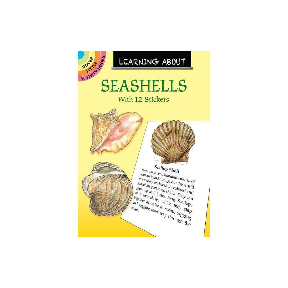 Learning About Seashells Dover Little Activity Books By Sy Barlowe Paperback