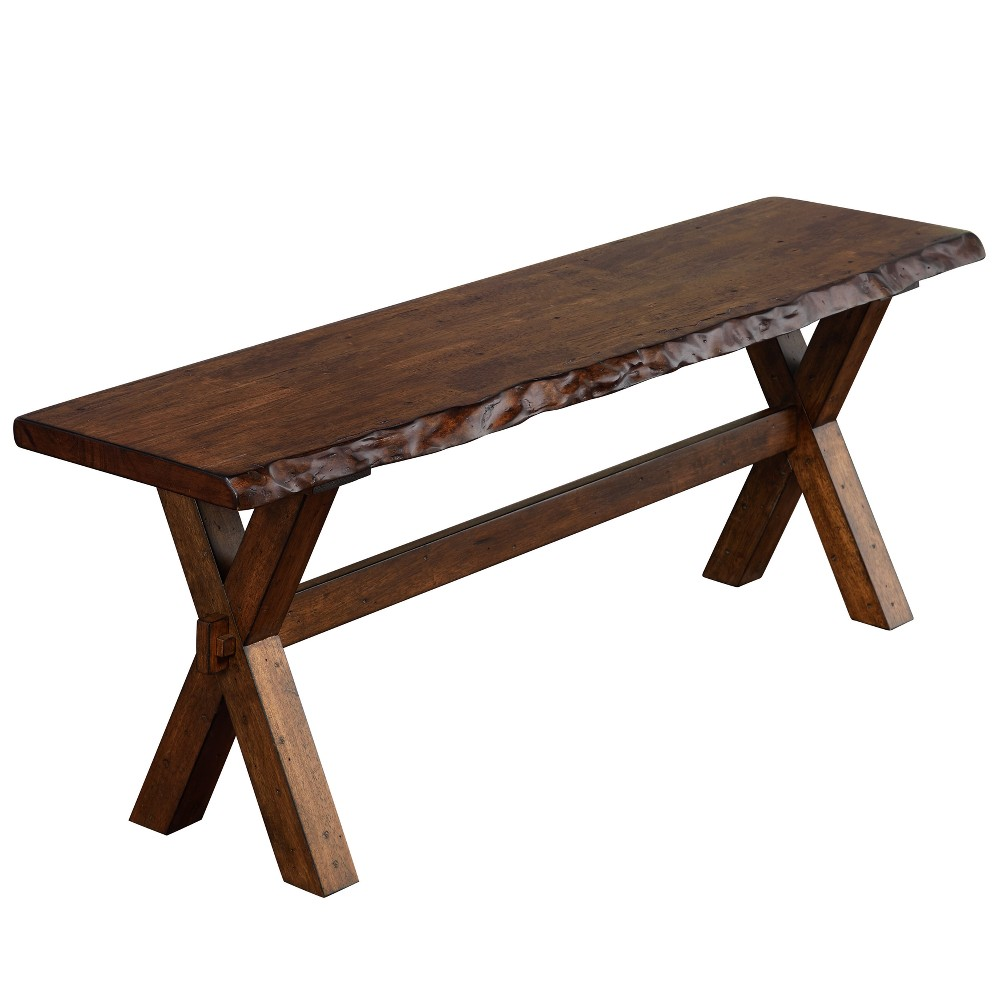 Mandeville Dining Bench Brown - Buylateral