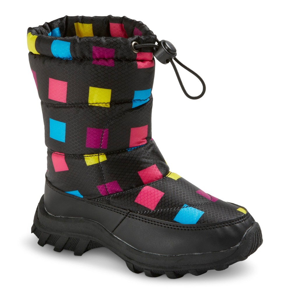 Toddler Girls' Itasca Snow Scamp Boots - 7, Multicolored