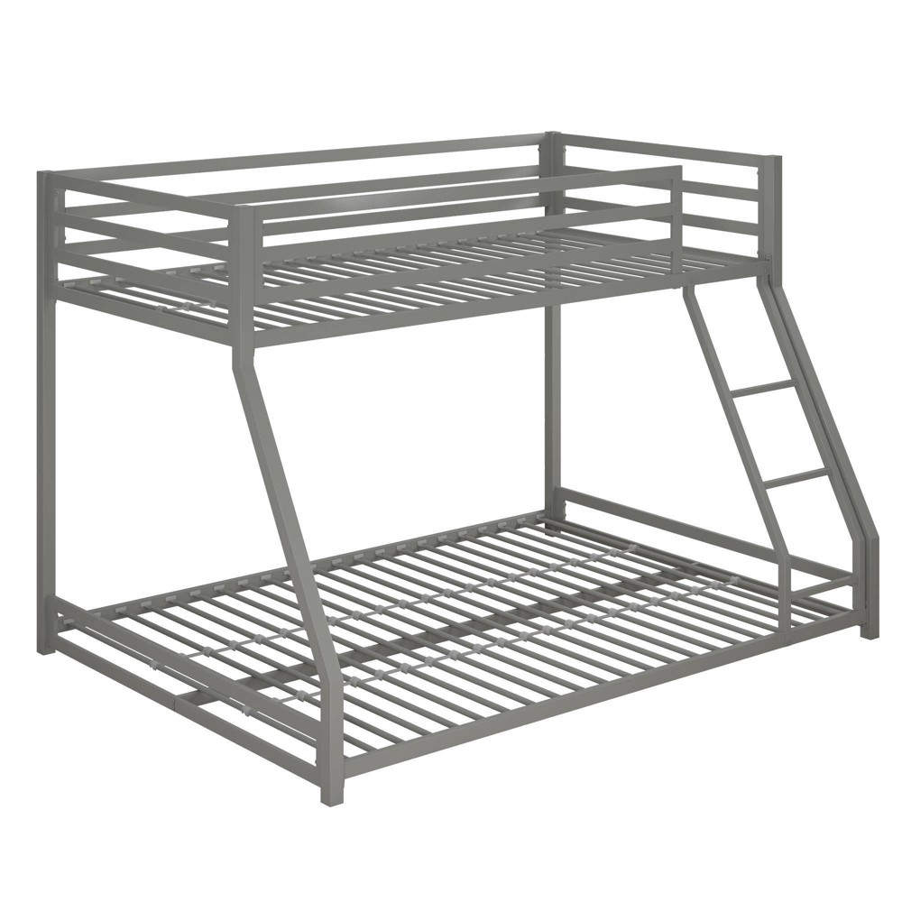 Max Metal Bunk Bed Silver - Room & Joy