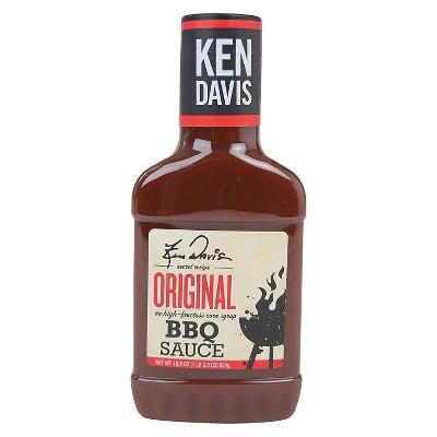 Ken Davis Original BBQ Sauce - 18.5oz