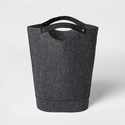 Felt Hamper Black - Threshold™