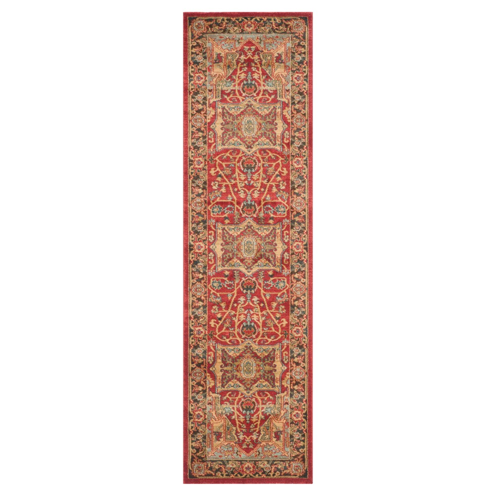 Hawly Runner - Natural/Red (2'2 X 10') - Safavieh, Natural/Blue