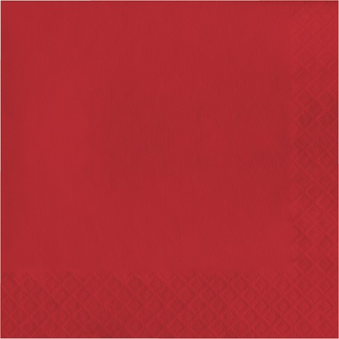 60ct Red Paper Lunch Napkin - Wondershop™ - image 1 of 1