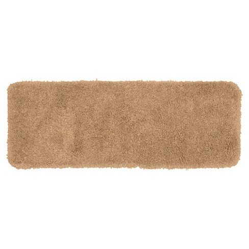 Serendipity Solid Shaggy Washable Nylon Bath Runner - Garland Rug® - image 1 of 1