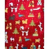 Papyrus Santa's Best Friends Gift Wrap[ - image 2 of 3