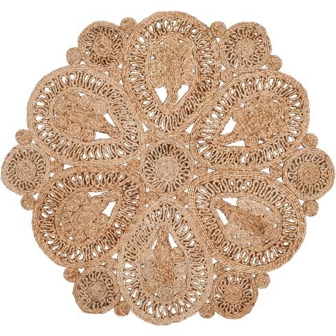 Carmella Solid Woven Rug - Safavieh - image 1 of 3