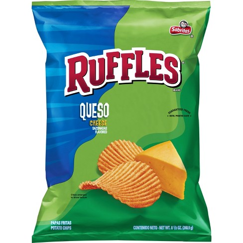 Ruffles Queso Flavored Chips - 8.5oz - image 1 of 2