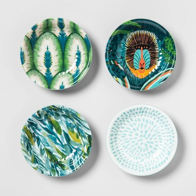 .2oz 4pk Melamine Dip Bowls Green - Opalhouse™