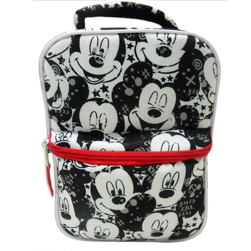 Disney Mickey Mouse & Friends Minnie Mouse Lunch Bag - Black/White - image 1 of 4